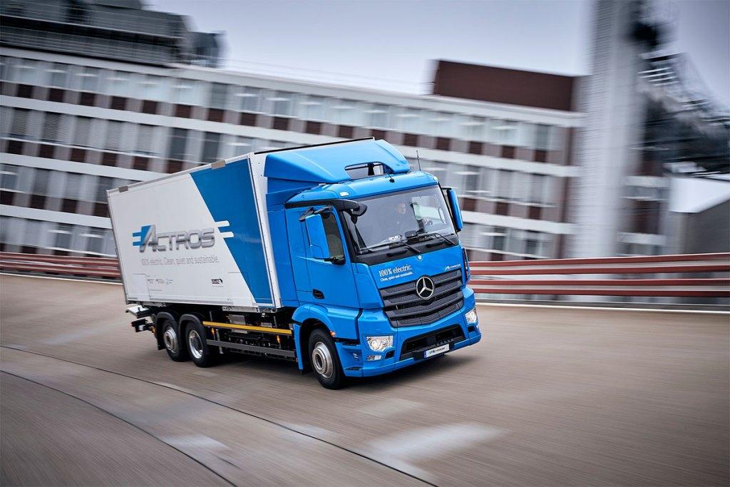 eActros, veículos elétricos do Grupo Daimler