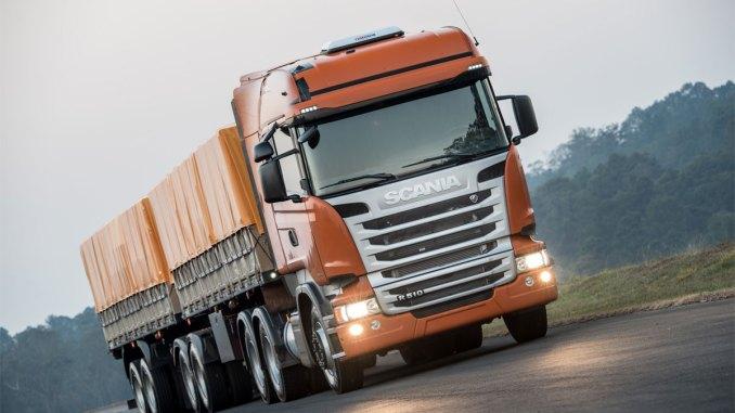 Scania prevê crescimento no mercado de caminhões