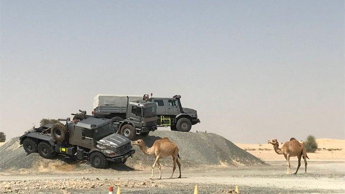 Mercedes-Benz exporta para Oriente Médio e África
