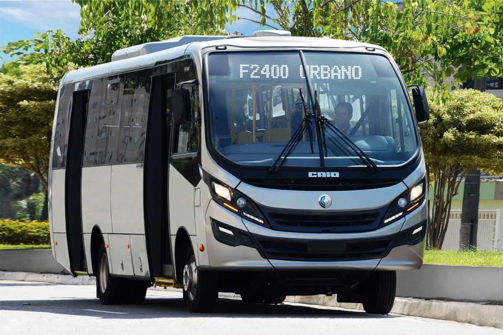 Caio vai entregar 250 micro-ônibus F2400 para a cidade de Lagos, na Nigéria