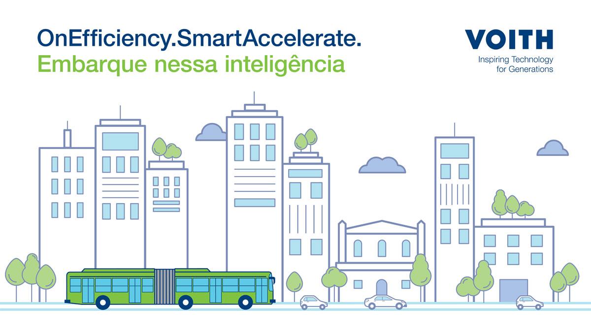 OnEfficiency.SmartAccelerate, sistema autônomo para ônibus urbanos da Voith