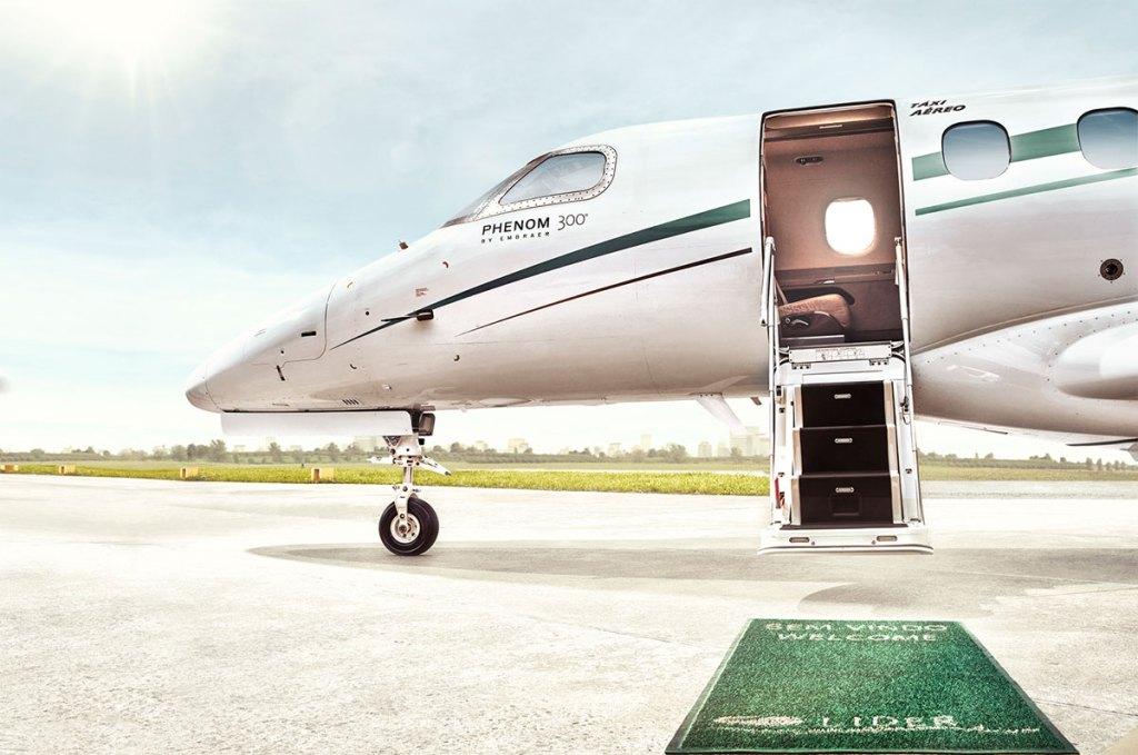Líder Aviação - aplicativo para fretamento de aeronaves