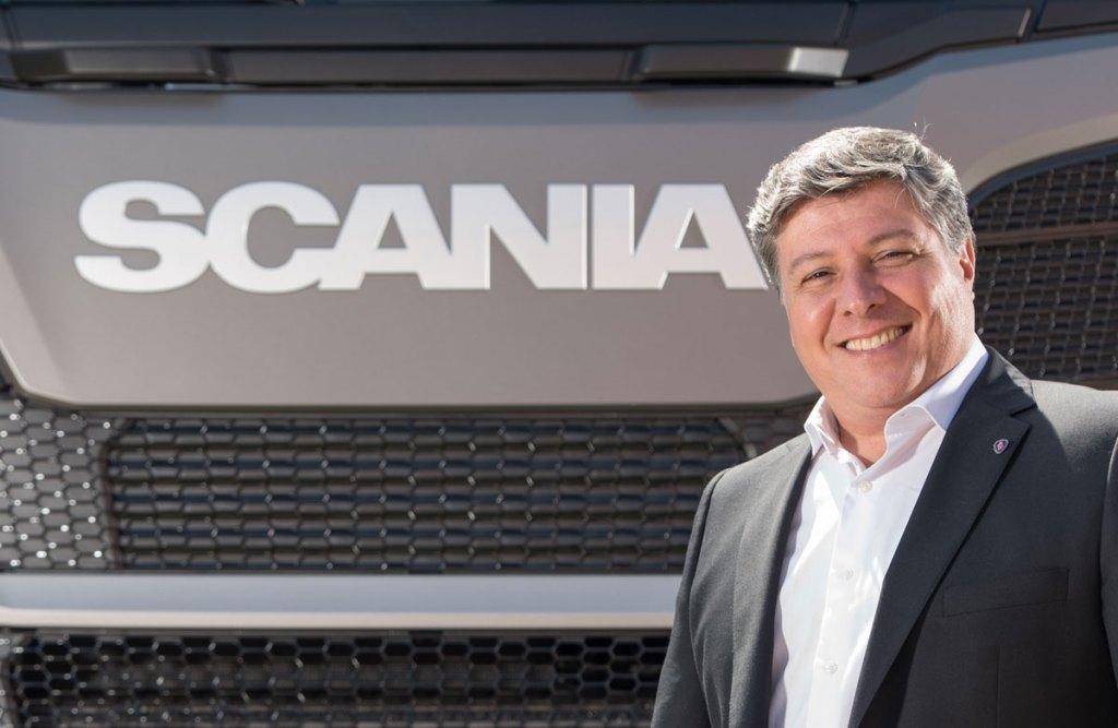 Roberto Barral, vice-presidente de relações comerciais da Scania