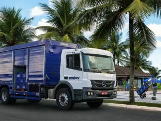Mercedes-Benz fecha negócio de 228 caminhões com a Ambev