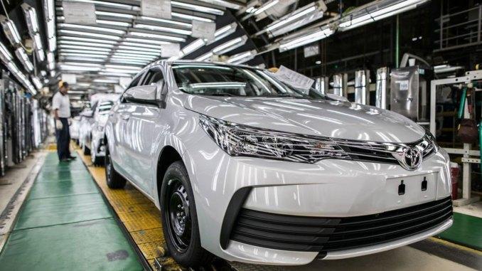 Toyota anuncia investimento