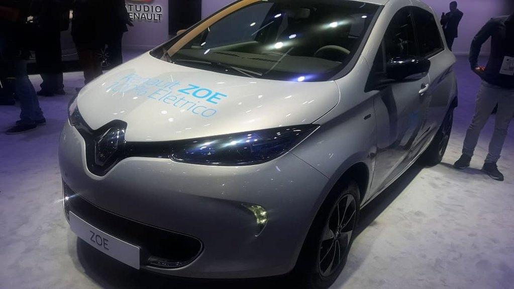 Salão do Automóvel de São Paulo - Renault Zoe