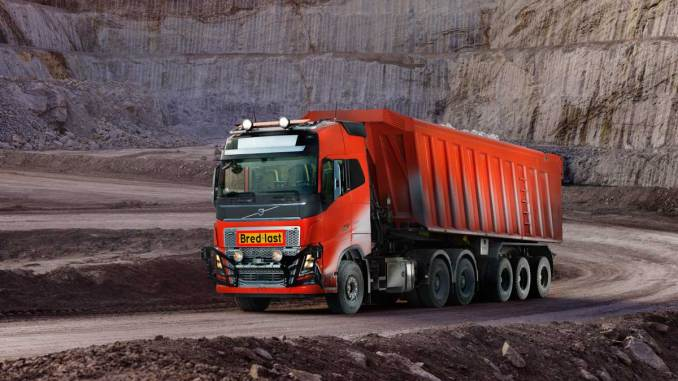 caminhões autônomos Volvo