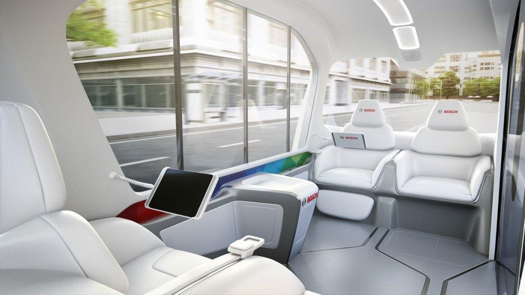 micro-ônibus do futuro da Bosch