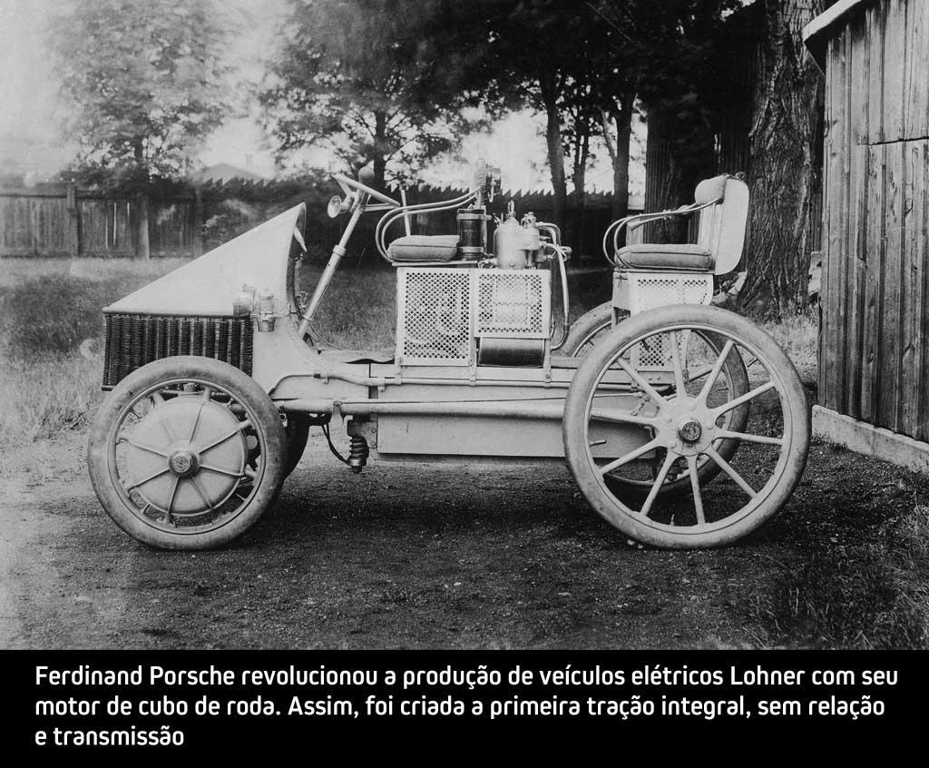 A história dos veículos elétricos - Lohner de Ferdinand Porsche