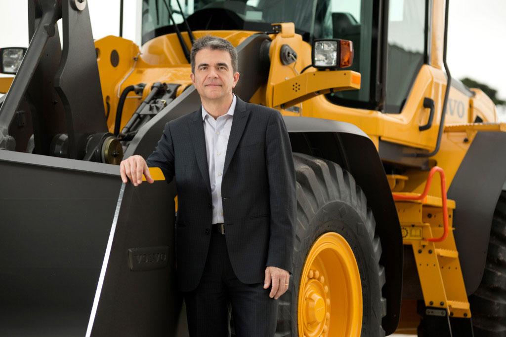 Luiz Marcelo Daniel, presidente da Volvo CE