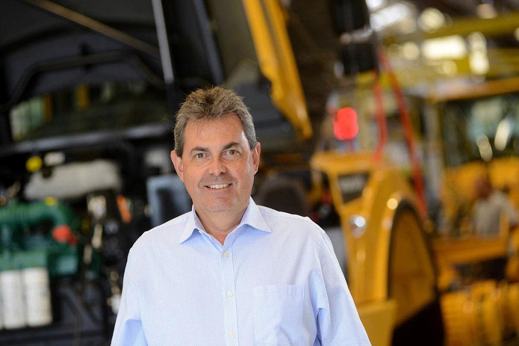 Wladimir Garcia, vice-presidente e diretor-geral do complexo industrial da Volvo CE