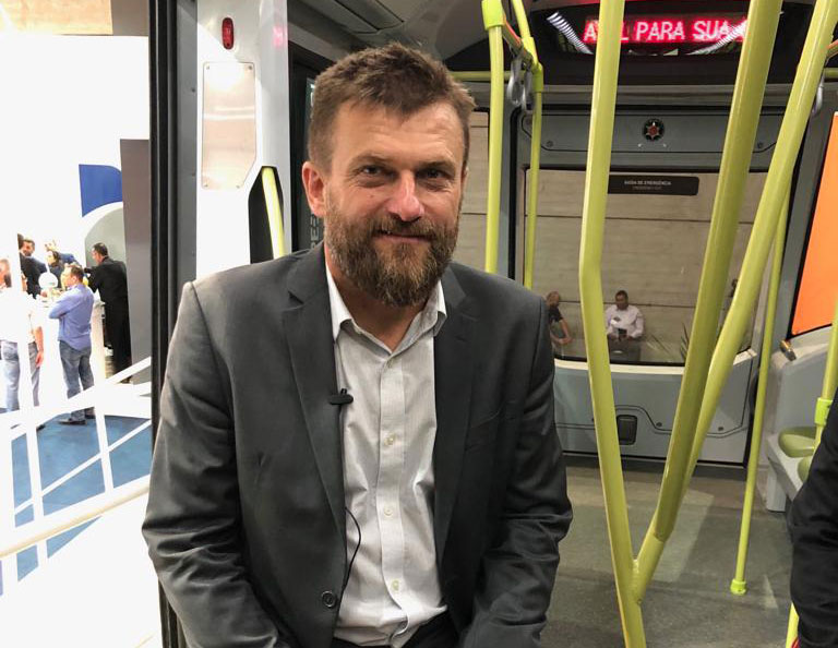 Marcus Coester, CEO da Aeromovel Brasil - Marcopolo Rail