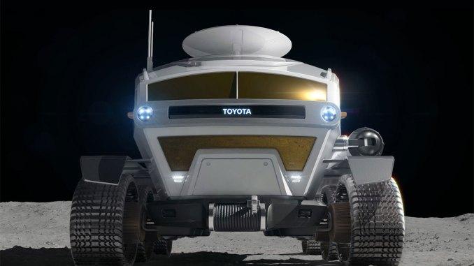 Veículo lunar da Toyota
