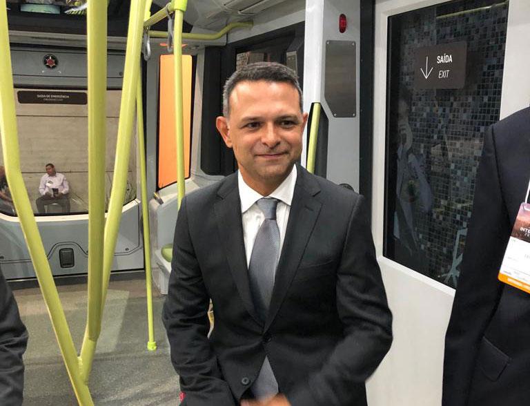 Petras Amaral, Marcopolo Rail