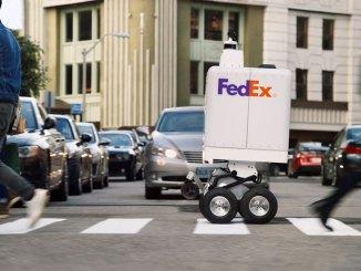 FedEx testa robô para entregas