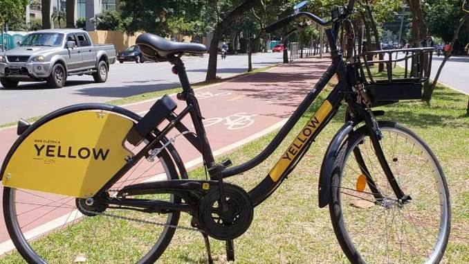 e-bike da Yellow