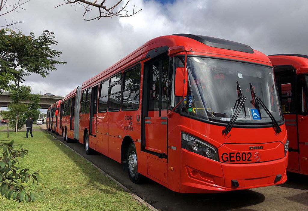 renovação da frota de Curitiba
