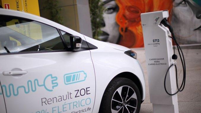 A Renault lançou em São Paulo um sistema de carsharing com o Zoe, o veículo elétrico da marca. Foto: Divulgação.