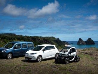 carros elétricos para Fernando de Noronha