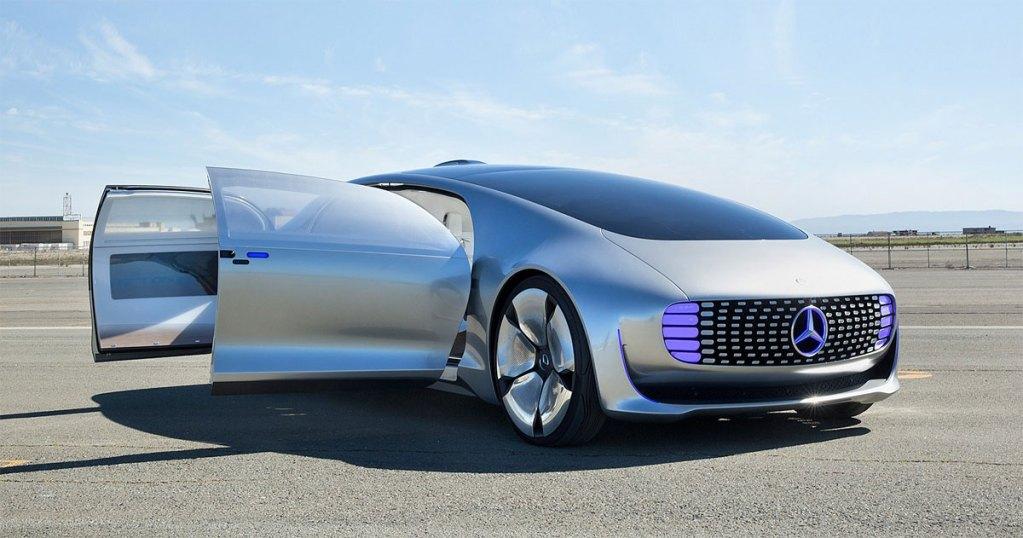 Mercedes-Benz autônomo nível 5