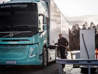 caminhões pesados elétricos