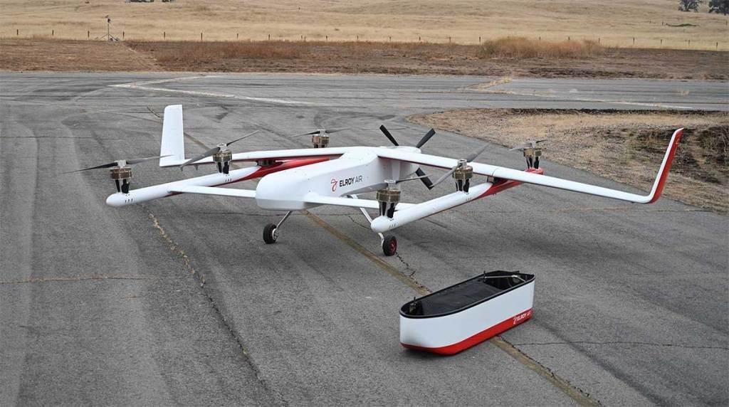 transporte autônomo de carga aérea