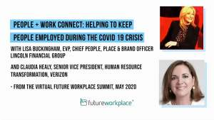 People + Work Connect: Helping to Keep People Employed During the COVID 19 Crisis