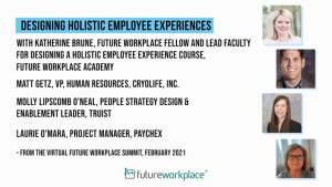 Designing Holistic Employee Experiences