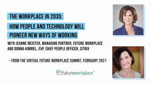 The Workplace in 2035: How People and Technology Will Pioneer New Ways of Working
