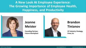 Webinar: A New Look At Employee Experience The Growing Importance of Natural Light On Employee Health, Happiness and Productivity
