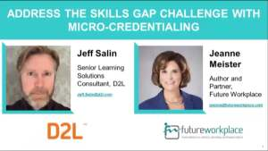 Webinar: Address The Skills Gap Challenge With Micro-Credentialing