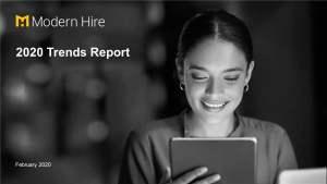 Webinar: The 2020 Talent Trends Report