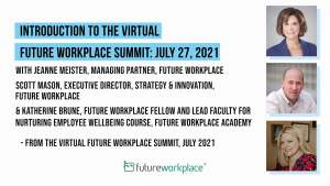 Introduction to the Virtual Future Workplace Summit: July 27, 2021