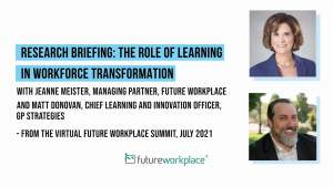 Research Briefing: The Role of Learning in Workforce Transformation