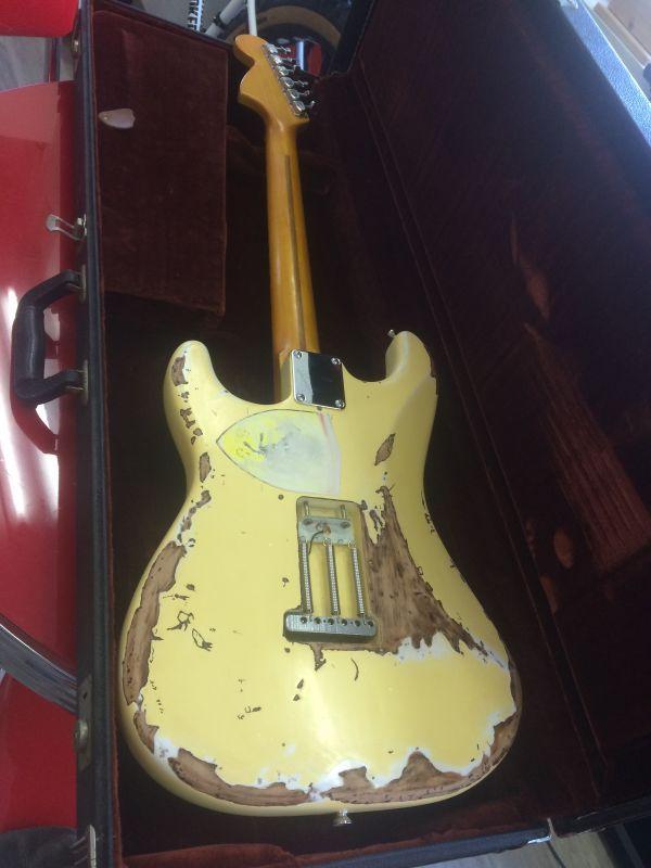 Fender USA Stratocaster Yngwie Malmsteen Duck Custom  HR