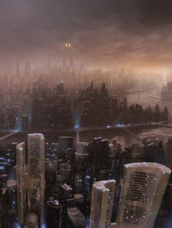 City Skyline by Razer