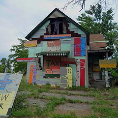 Heidelberg community art project, Detroit