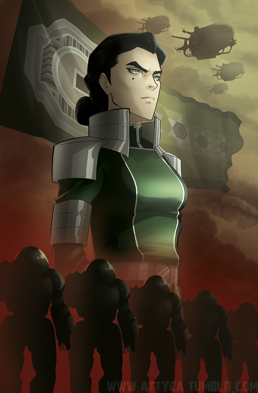 Futurist Anime Girl Wallpaper Kuvira An Appraisal Of The Woman And Her Works The