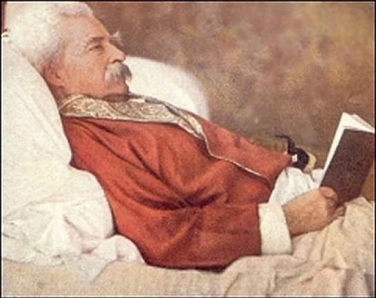 A. Langdon Coburn merceğinde Mark Twain