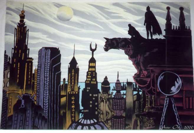 Zaman içinde Gotham'ın tarihçesi yazılırken New York'unkine benzerlikler gösterir.