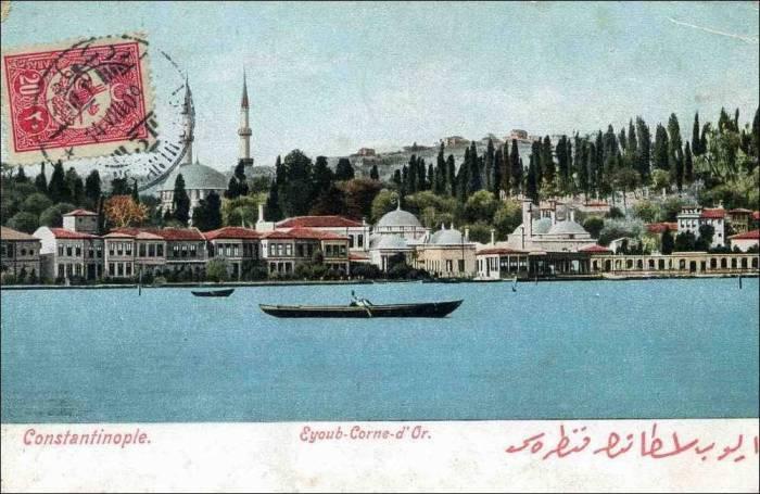 Dönemin Eyüp ve Eyüp'ten İstanbul görünümü