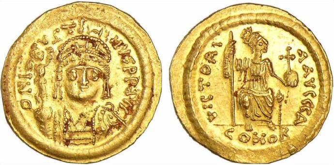 Justin 2 Solidus 565-578