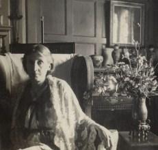 NPG Ax141648,Virginia Woolf (nÈe Stephen),by Lady Ottoline Morrell