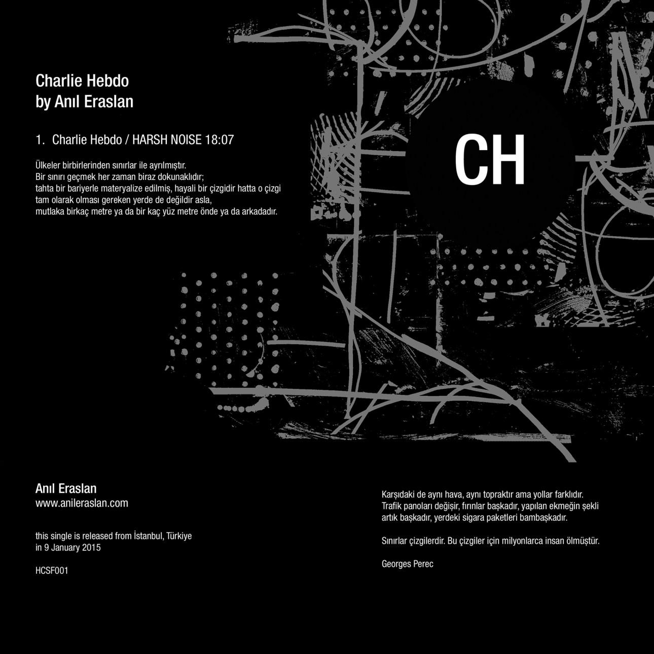 [Anıl Eraslan] - CH - Charlie Hebdo için Harsh Noise 2