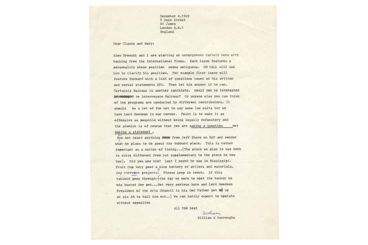 Cut-Ups: William S. Burroughs 1914-2014 13