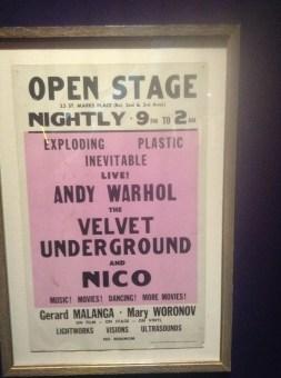 The Velvet Underground Exhibition: New York Extravaganza 45