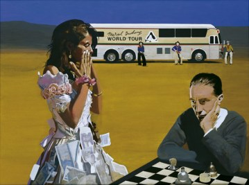Sir Peter Blake, 'Marcel Duchamp's World Tour: Playing Chess with Tracey', 2003-05