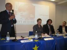 Dott. Matteo Fornara, Dott .ssa Antonella Selvaggio e Dott . Patrizio Paoletti al Convegno Left behind. Milano, 26 maggio 2010