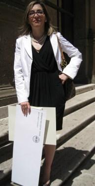 """Premiazione in Campidoglio: Avv. Monica Marinescu ha ricevuto il premio """"Roma Capitale delle donne"""" Foto: Copyright © Simona C. Farcas"""