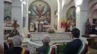 La Comunità di Veroli dona una copia in tela dell'icona di S. Maria Salome, custodita nella cripta della Basilica concattedrale verolana, che custodisce l'urna con i resti della Santa.